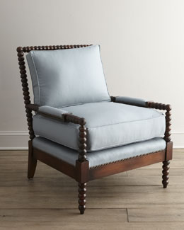 "Old Hickory Tannery ""Ellsworth"" Spindle-Back Chair"