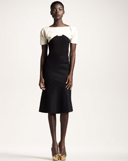 Roland Mouret Hubble Top & Glasher Skirt