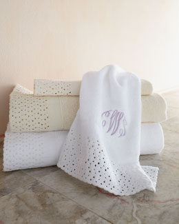 "Cobra Trading ""Princess Lace"" Towels"