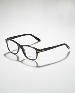 Tom Ford Unisex Semi-Rounded Square Fashion Glasses