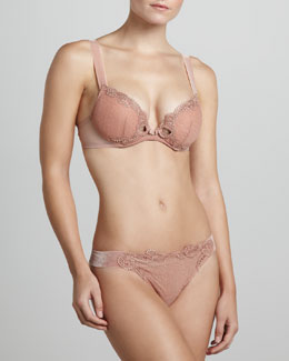 La Perla Marchesa Push-Up Bra & Brazilian Briefs