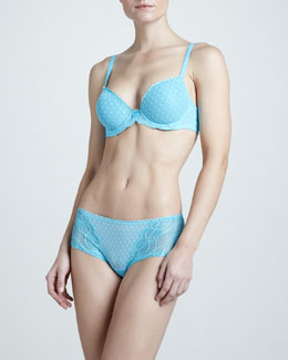 Wacoal Reveal Underwire Bra & Boy Shorts