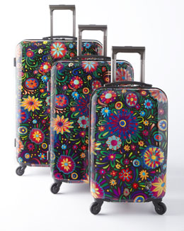 "Heys ""Flowers Dance"" Luggage Collection"