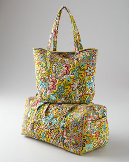 "Vera Bradley ""Provencal"" Luggage Collection"