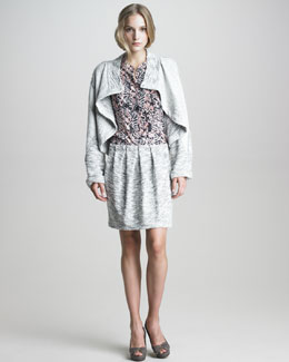 See by Chloe Jacket, Mini Skirt & Blouse