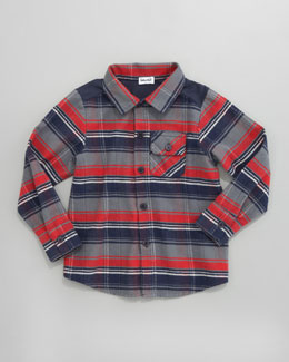 Splendid Littles Plaid Button-Down Shirt