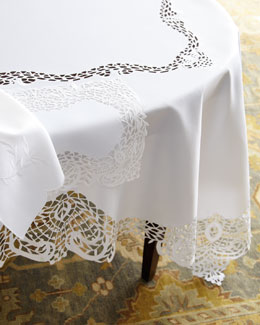 "SFERRA ""Lisette"" Table Linens"
