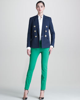 DSquared2 Susie Anchors Captain Jacket, Les Copines Poplin Shirt & Cool Girl Pants