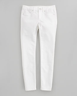 Joe's Jeans Stretch Denim Leggings, Optical White