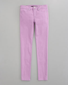 Joe's Jeans Neon Denim Leggings, Purple