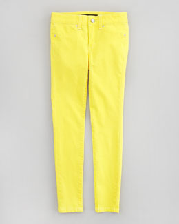 Joe's Jeans Neon Denim Leggings, Yellow