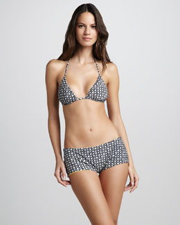 Tory Burch Biarritz Printed Two-Piece Bikini