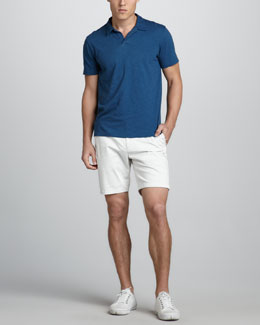 Theory Willem Slub Polo & Zaine Slim Shorts