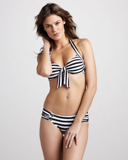 Seafolly Seaview Striped Halter Bikini