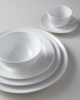 Billy Cotton White Dinnerware