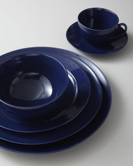 Billy Cotton Indigo Dinnerware