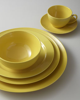 Billy Cotton Yellow Dinnerware