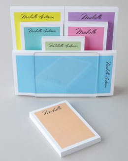 THE CHATSWORTH COLLECTION Pretty Pastel Notepads & Holder