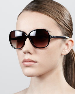 TOMS Eyewear Marisol Square Acetate Sunglasses