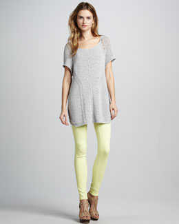 MARC by Marc Jacobs YoYo Knit Sweater & Stick Skinny Jeans