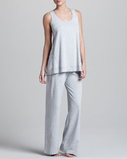 Donna Karan Pima Jersey Lounge Top & Pants