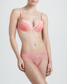 La Perla Room Service Push-Up Bra & Lace Thong