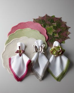 "Deborah Rhodes ""Natural"" Table Linens"