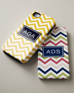 Boatman Geller Chevron iPhone 4/4s & iPhone 5/5s Tough Cases