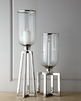 John-Richard Collection Structured Candle Stands
