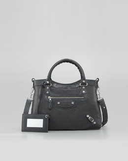 Balenciaga Giant 12 Nickel Town Bag