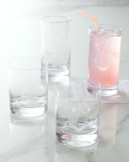 "kate spade new york ""Bar Belles"" Glassware"