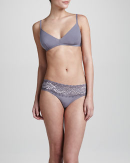 Cosabella Aire Soft Bra & Love Low-Rise Thong