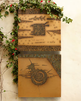 Copper Patina Wall Decor
