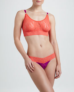Hanky Panky Colorplay Cropped Camisole & Low-Rise Thong