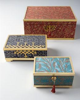 "L'Objet ""Fortuny"" Boxes"