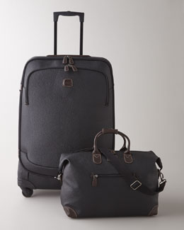 "Bric's Black ""Magellano"" Luggage Collection"