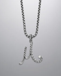 David Yurman Cable Collectibles Initial Charm