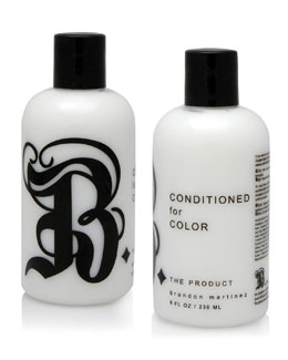 B. The Product Conditioned For Color