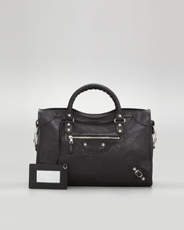 Balenciaga Giant 12 Nickel City Bag