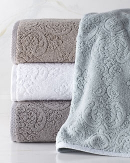 "Trump Home ""Bedminster"" Damask Towels"