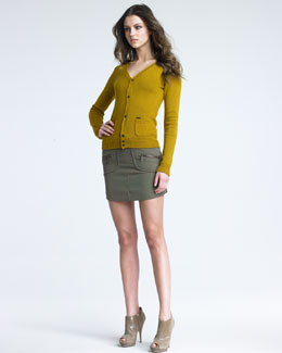DSquared2 Wool Miniskirt