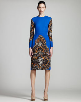 Stella McCartney Floral Long-Sleeve Dress