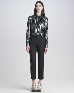 Marc Jacobs Lightweight Wool Skinny Pants