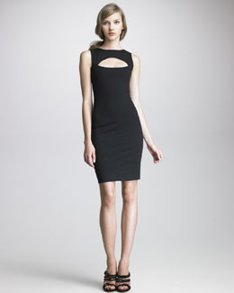 DSquared2 Scuba Keyhole Dress