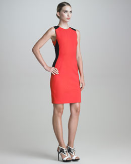 Jason Wu Sleeveless Contour-Seamed Dress