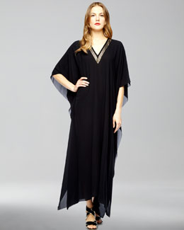 Michael Kors Embroidered Caftan