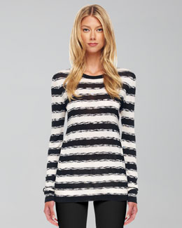 Michael Kors Striped Knit Sweater
