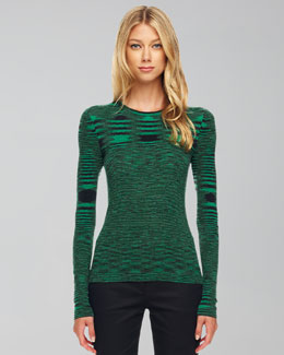 Michael Kors  Space-Dye Cashmere Sweater