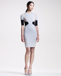 Belstaff Knit Intarsia Dress