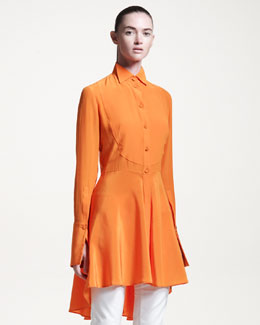 Alexander McQueen Long-Sleeve Tunic